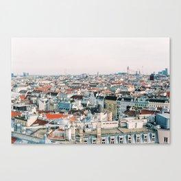 Vienna During a Sunset Canvas Print