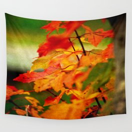 Tumble Down Fire Wall Tapestry