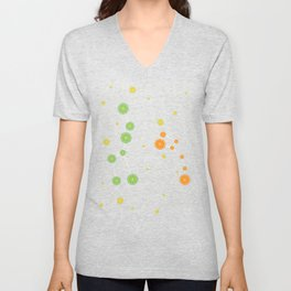 Citrus constellations Unisex V-Neck