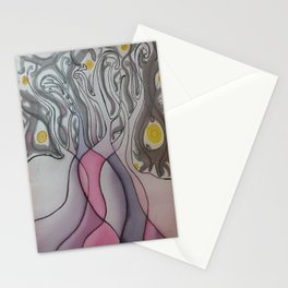 The Dancing Ladies Stationery Cards