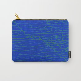 Stone electric blue Carry-All Pouch