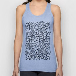Shattered R Unisex Tank Top