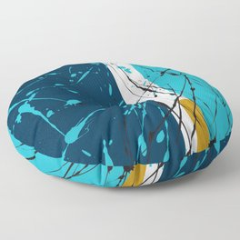 Turquoise dreams Floor Pillow