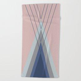 Iglu Pastel Beach Towel