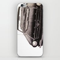 mustang iPhone & iPod Skins featuring Mustang by Lindsay Carter