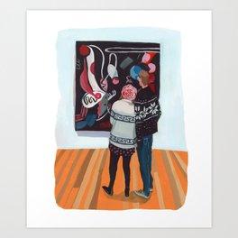 Sweater Love Art Print