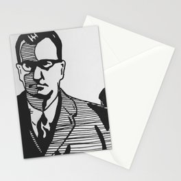 Off to Work Stationery Cards