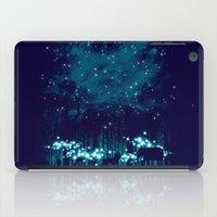 safari iPad Cases featuring Cosmic Safari by dan elijah g. fajardo