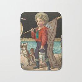 The pride of the harbor, 1874 Bath Mat