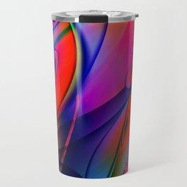 Rich Abstract 2 Travel Mug