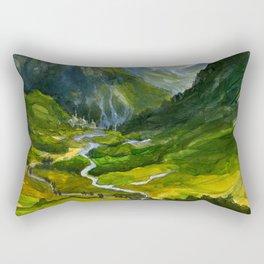 The Hidden Valley (original) Rectangular Pillow