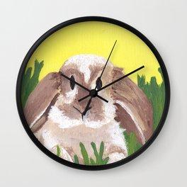 Young Peter Rabbit - Panel 2 Wall Clock