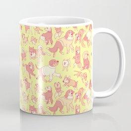 Dogs In Sweaters (Yellow) Coffee Mug