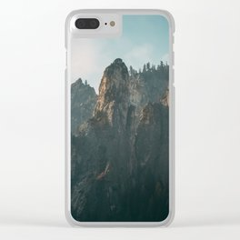 Morning Light in Yosemite National Park Clear iPhone Case