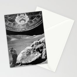Lovers on the Moon part 2 Stationery Cards