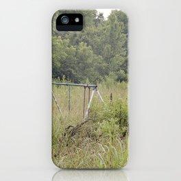 Abandoned Playground iPhone Case