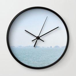 distant sea Wall Clock