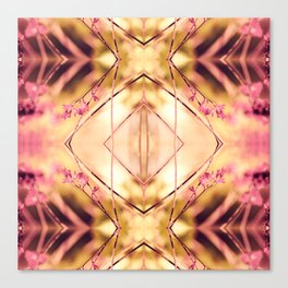 PINK SPANGLES no9-R1 Canvas Print