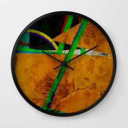 Seretonin Imbalance Wall Clock