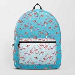 Flamengos in water Backpack