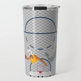 Dunkers | Basketball Court  Travel Mug