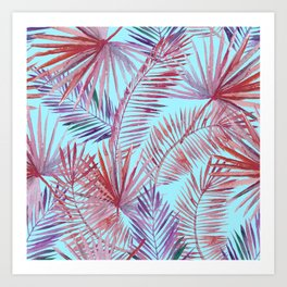 tropical web Art Print