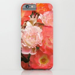 Roses that Knock You Out iPhone Case