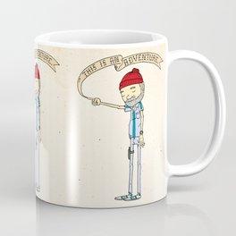 """THIS IS AN ADVENTURE."" - Zissou Coffee Mug"