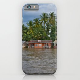Life on the Mekong iPhone Case