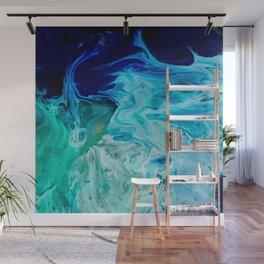 Ocean blues Wall Mural