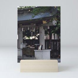 Cat in Japan Mini Art Print