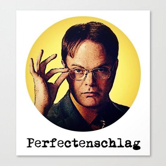 Perfectenschlag  |  Dwight Schrute Canvas Print