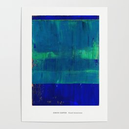 Simon Carter Painting Good Intentions Poster