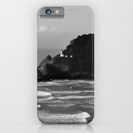 Lighthouse On A Bluff iPhone Case