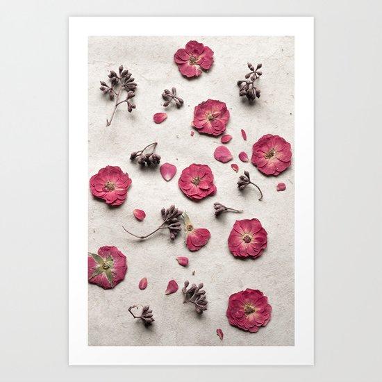 Botanical Bits Art Print