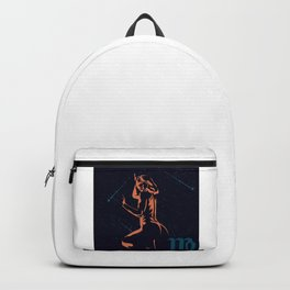 Zodiac signs. VIRGO. Backpack