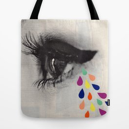 Sad Eyes Tote Bag