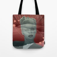 diamonds Tote Bags featuring diamonds by Rosa Picnic