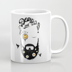 Make Beards not War (typo edition) Coffee Mug