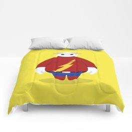 The Flash x Baymax (Flashmax) Comforters