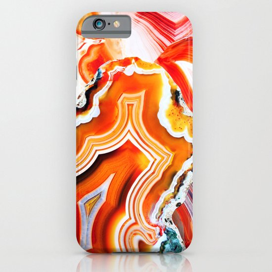 The Vivid Imagination of Nature, Layers of Agate iPhone & iPod Case