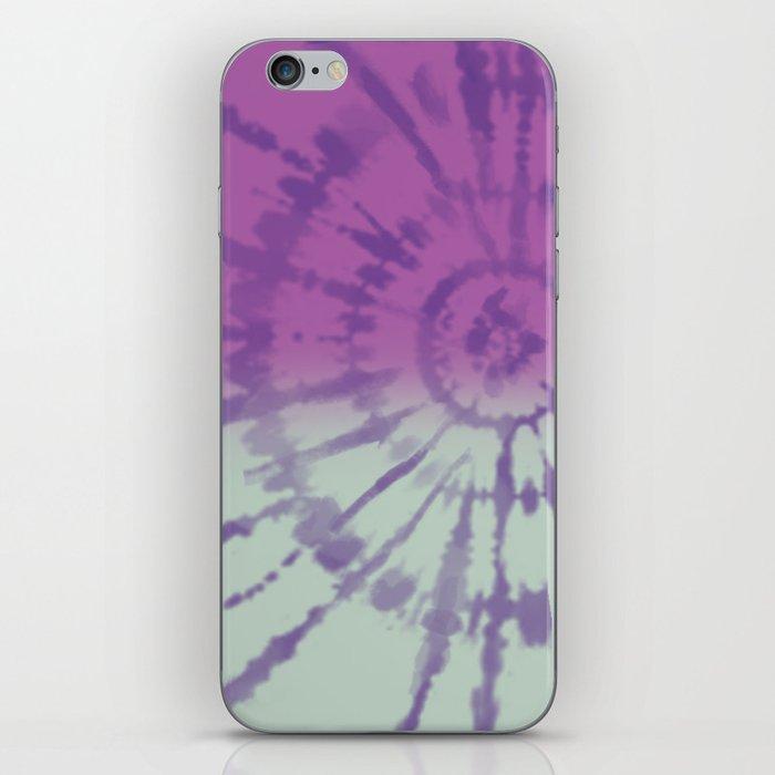 Tie Dye pattern iPhone Skin