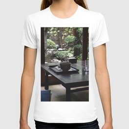 Matcha Green Tea In Old Japanese House T-shirt