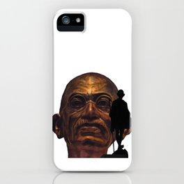 Gandhi - the walk iPhone Case