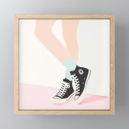 WAITING FOR YOU Framed Mini Art Print