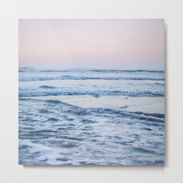 Pacific Ocean Waves Metal Print