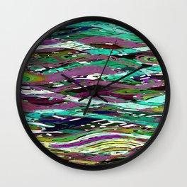 Kolorful Kelp Wall Clock