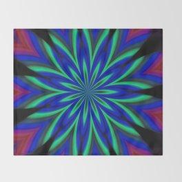 Retrodelic Throw Blanket