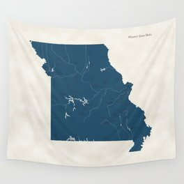 Missouri Parks - v2 Wall Tapestry
