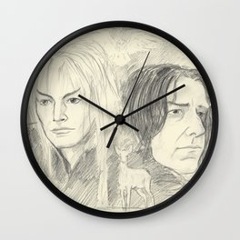Magick Lives Forever Wall Clock